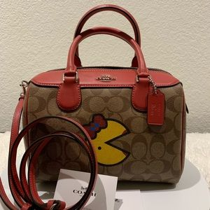 Coach Pac-Man limited collection mini Bennett